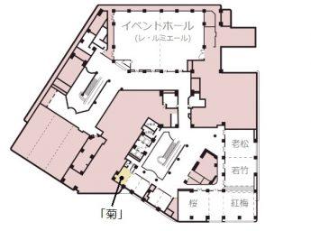 新大阪ワシントンホテルプラザ 宴会場 「菊」