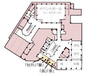 新大阪ワシントンホテルプラザ 宴会場 葵 / 茜 / 蘭 / 牡丹