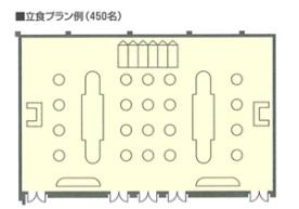 ホテル阪急エキスポパーク 宴会場 「青雲(全)」