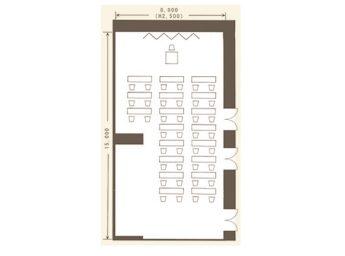 ホテル日航プリンセス京都 宴会場 「フリージア(全室)」