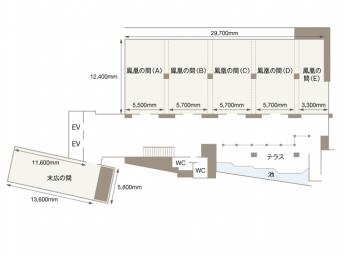 渋谷東武ホテル 宴会場 鳳凰の間(A)