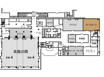 ホテルニューオータニ博多 宴会場 ローズルーム