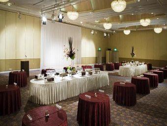 天王寺都ホテル 宴会場 「吉野の間」