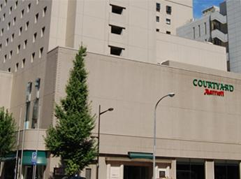 コートヤード・マリオット銀座東武ホテル 外観