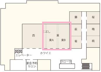 パレスホテル立川 宴会場