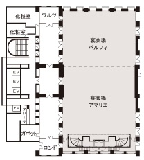 ホテルモントレ大阪 宴会場 アマリエ