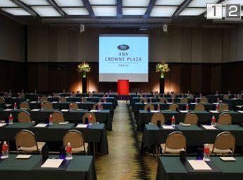 ANAクラウンプラザホテル大阪 宴会場 万葉の間(全室)