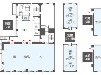 ハートンホテル心斎橋 会議室 別館2階:松風