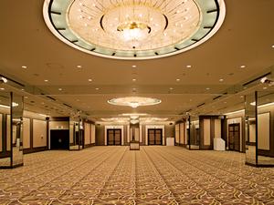 ホテルグランヴィア大阪  宴会場 「名庭(A+Bの2分割) 」