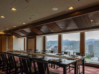 ANAクラウンプラザホテル札幌 スカイバンケットルーム「手稲」