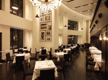 ザ・クルーズクラブ東京 陸上クラブハウス内レストラン