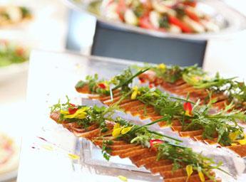 アリスアクアガーデン品川 料理例